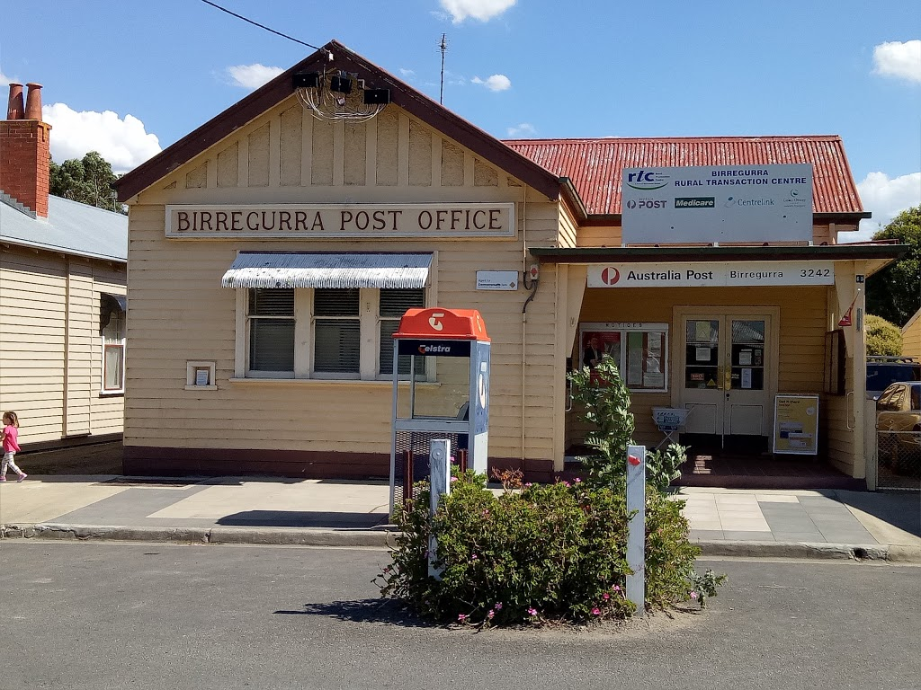 Centrelink Access Point   point of interest   65 Main St, Birregurra VIC 3242, Australia   132468 OR +61 132468
