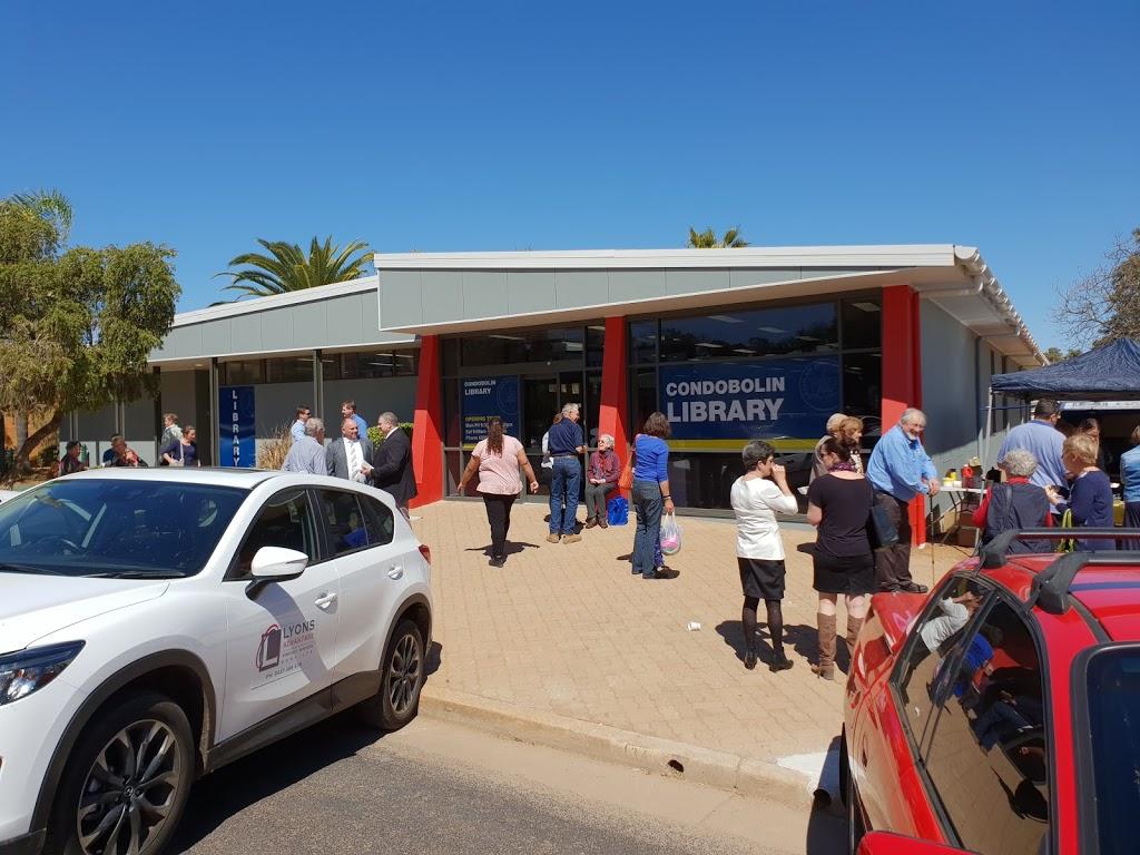 Condobolin Public Library | library | 130 Bathurst St, Condobolin NSW 2877, Australia | 0268952253 OR +61 2 6895 2253