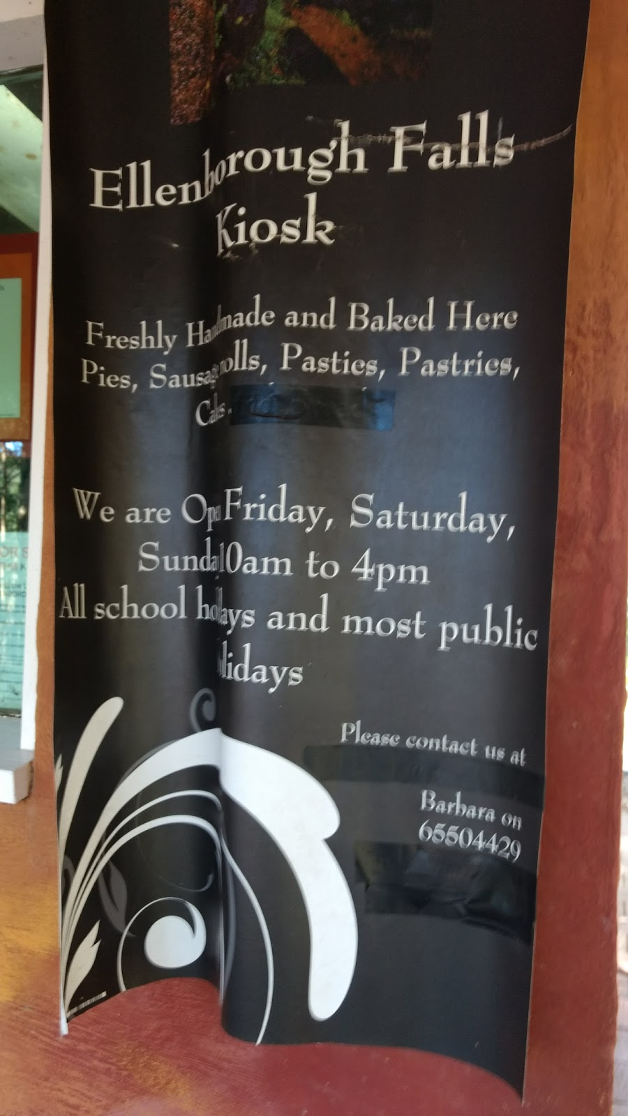 Ellenborough Falls Kiosk   cafe   Ellenborough Falls Rd, Elands NSW 2429, Australia