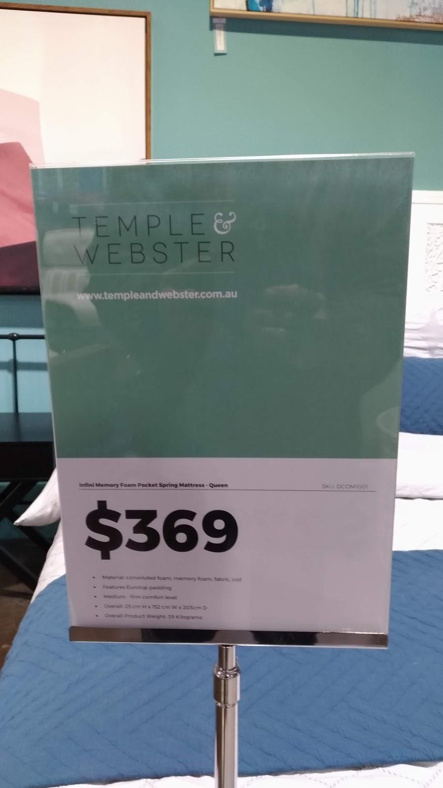 Temple & Webster Pop Up Shop (Limited Range) | furniture store | 77 Burnley St, Richmond VIC 3121, Australia | 1300900675 OR +61 1300 900 675