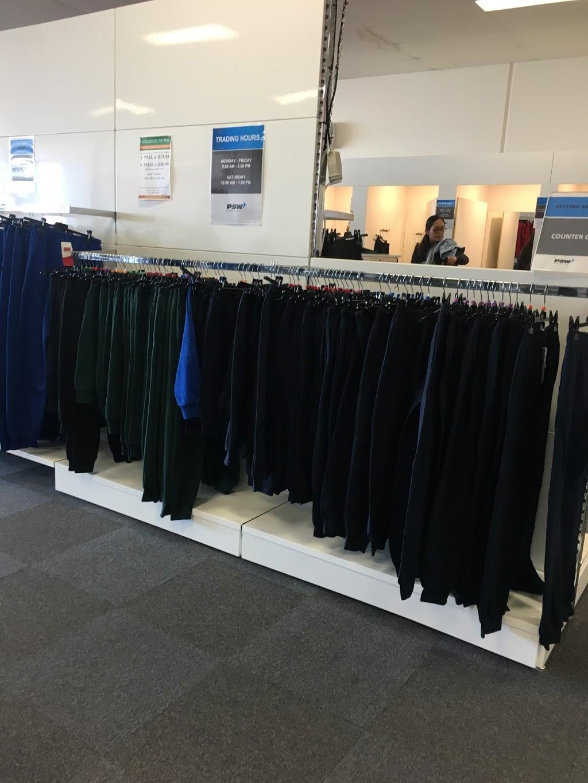 PSW School Uniforms Deer Park | clothing store | 2/51-53 Westwood Dr, Ravenhall VIC 3023, Australia | 0397680342 OR +61 3 9768 0342