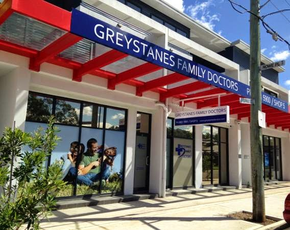 Greystanes Family Doctors | hospital | 6-10 Kippax St, Greystanes NSW 2145, Australia | 0296315900 OR +61 2 9631 5900