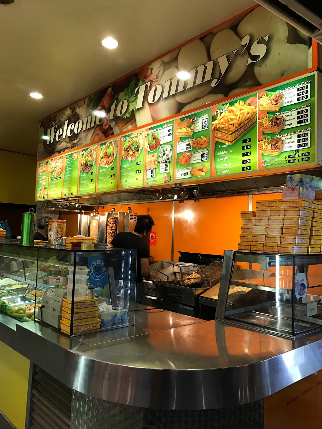 TOMMYS PIZZA AND KEBABS | meal takeaway | 201 Hamilton Rd, Fairfield West NSW 2165, Australia | 0297245544 OR +61 2 9724 5544