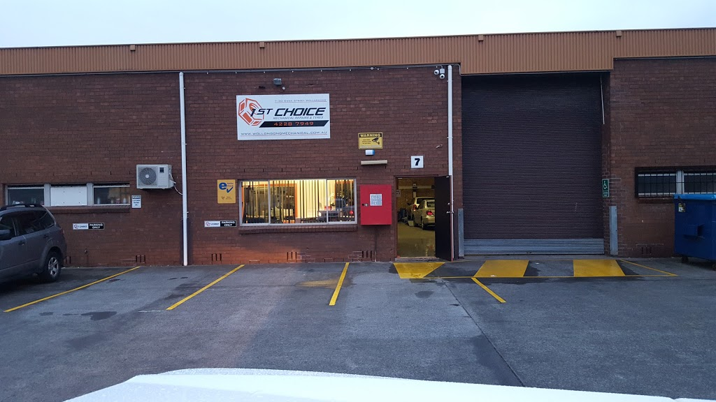 1st Choice Mechanical Repairs | car repair | 7/30 Swan St, Wollongong NSW 2500, Australia | 0242287949 OR +61 2 4228 7949