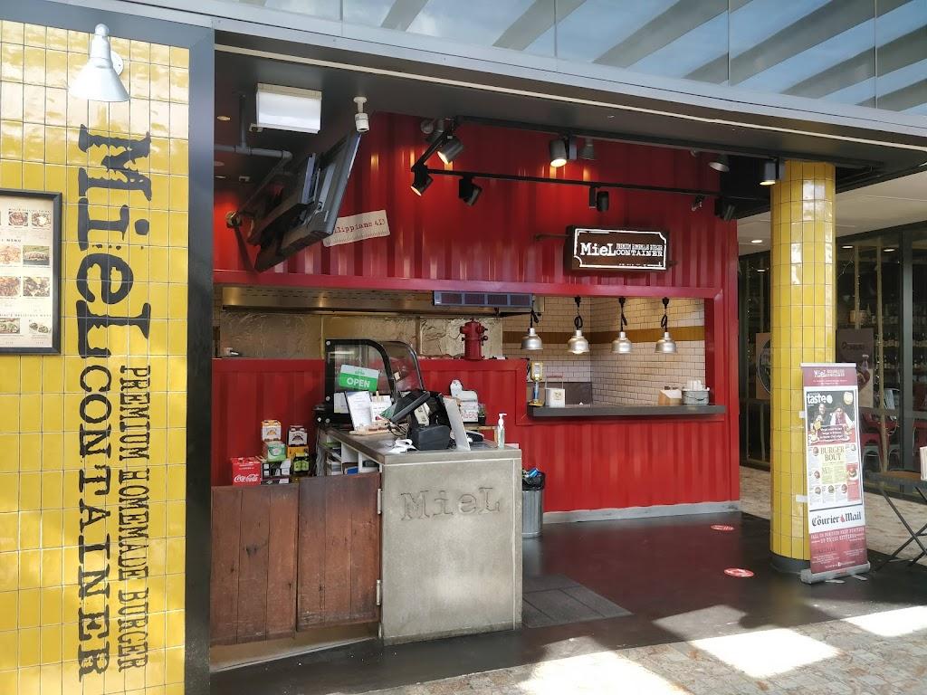 Miel container William St | restaurant | RetailE, 1 William St, Brisbane City QLD 4000, Australia | 0732101869 OR +61 7 3210 1869
