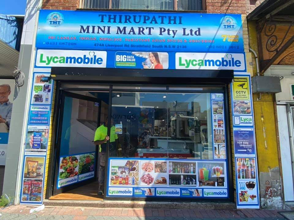 Thirupathi Mini Mart | grocery or supermarket | 474A Liverpool Rd, Strathfield South NSW 2136, Australia | 0280215012 OR +61 2 8021 5012
