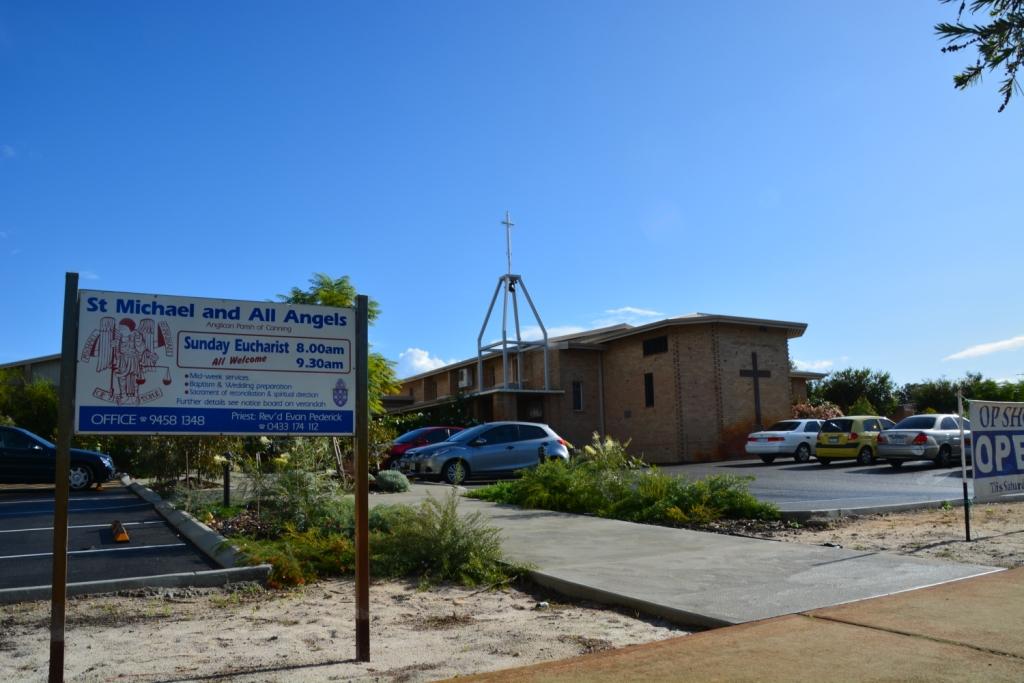 St Michael & All Angels   church   46 George Way, Cannington WA 6107, Australia   0894581348 OR +61 8 9458 1348