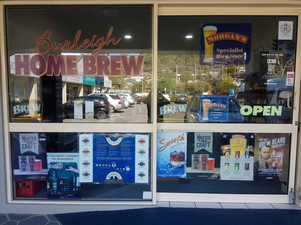 Burleigh Home Brew   liquor store   Shop 12A/109 W Burleigh Rd, Burleigh Waters QLD 4220, Australia   0755355652 OR +61 7 5535 5652