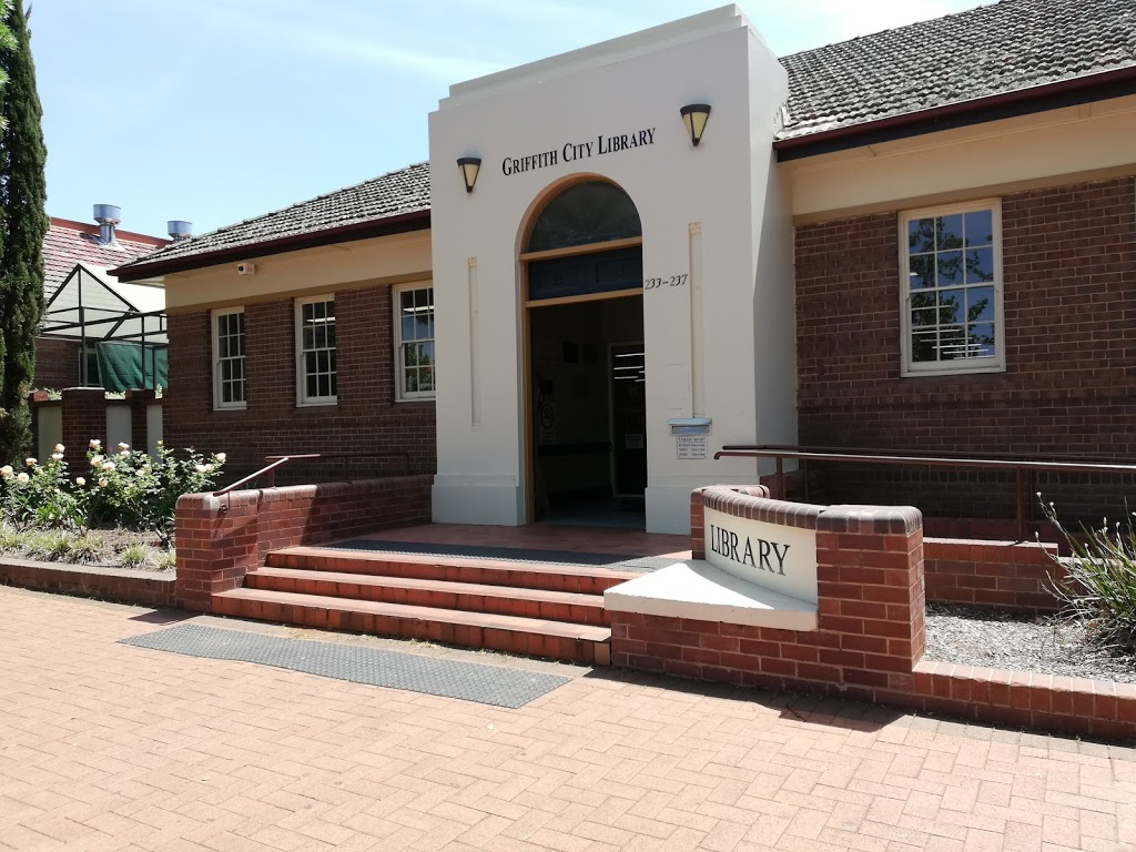 Griffith City Library | library | 233 Banna Ave, Griffith NSW 2680, Australia | 0269628300 OR +61 2 6962 8300