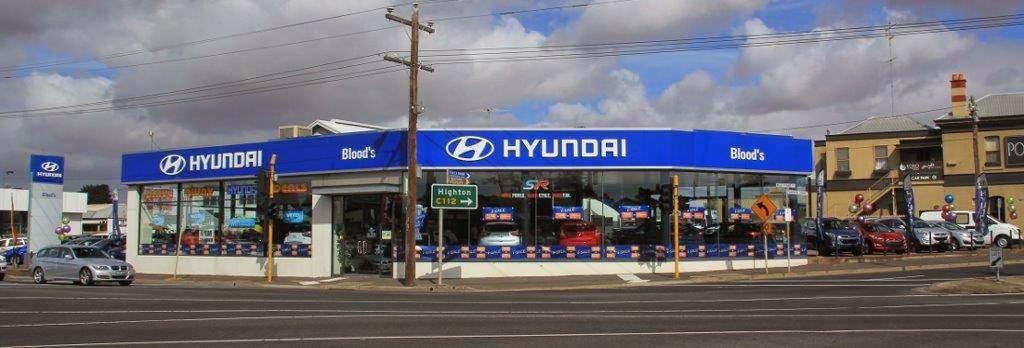 Blood Hyundai   car dealer   Cnr LaTrobe Tce and Fyans Street, Geelong VIC 3220, Australia   0352217233 OR +61 3 5221 7233