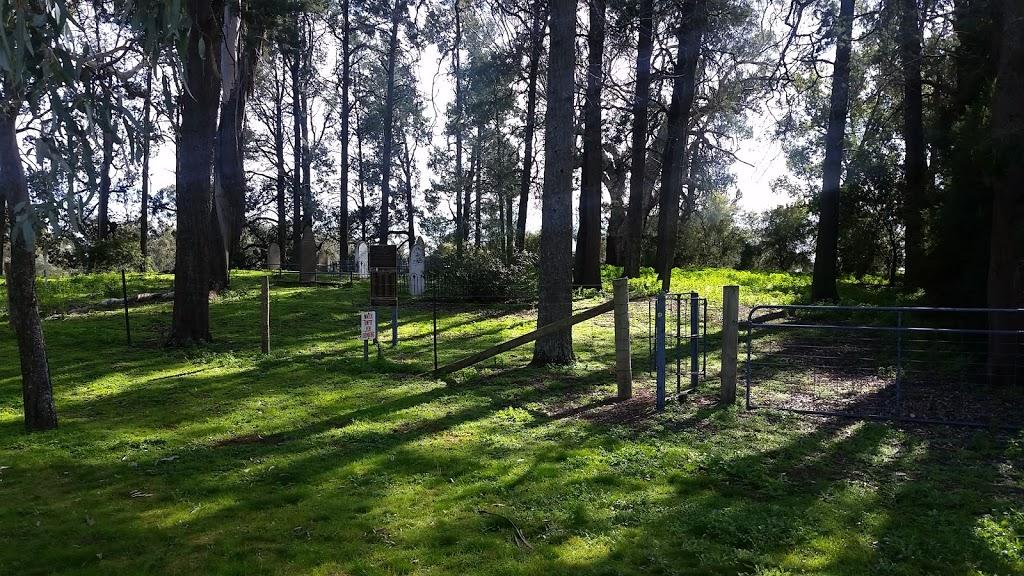 Foord Private Cemetery, Wahgunyah, Vic | cemetery | 957 Kilborn Rd, Wahgunyah VIC 3687, Australia