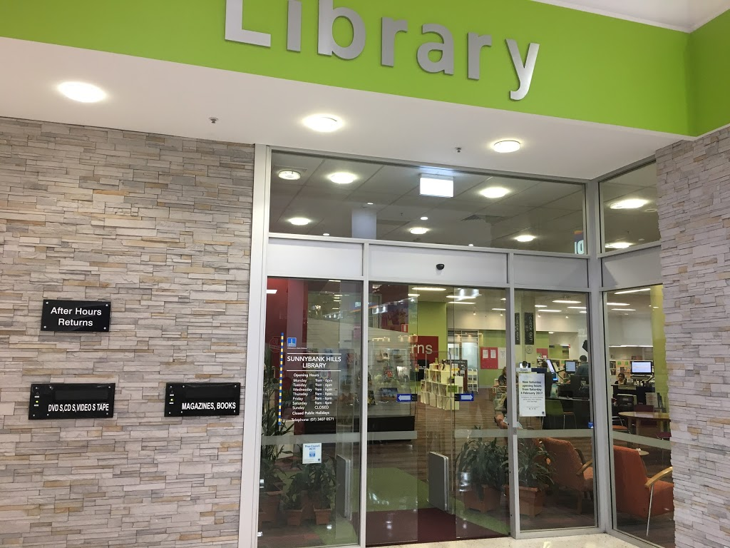Sunnybank Hills Library | library | 661 Compton Rd, Sunnybank Hills QLD 4109, Australia | 0734070571 OR +61 7 3407 0571