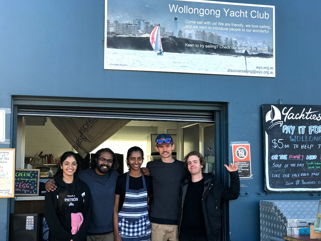 Yachties Cafe | cafe | 85 Endeavour Dr, Wollongong NSW 2500, Australia | 0242269001 OR +61 2 4226 9001