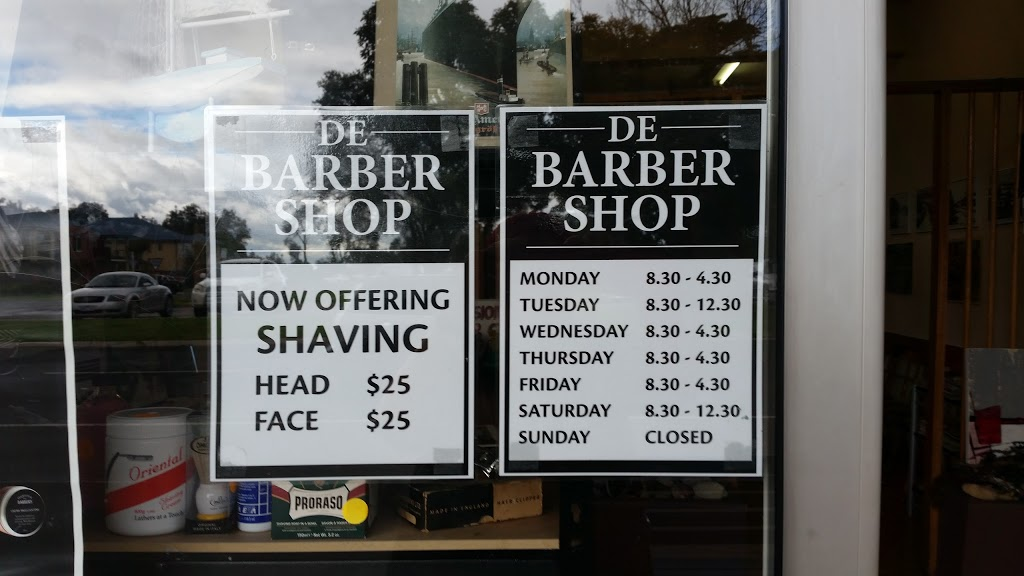 De Barber Shop | hair care | 871 Point Nepean Rd, Rosebud VIC 3939, Australia