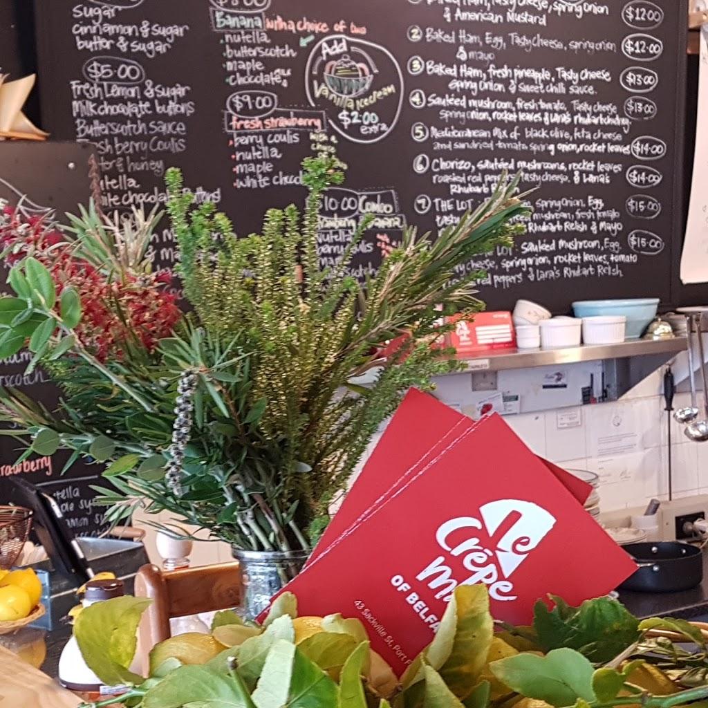 Le Crepe Man | cafe | 43 Sackville St, Port Fairy VIC 3284, Australia | 0355683261 OR +61 3 5568 3261