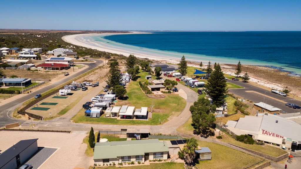 Port Hughes Tourist Park (Seafront) | campground | Unnamed Road, Port Hughes SA 5558, Australia | 0888252106 OR +61 8 8825 2106