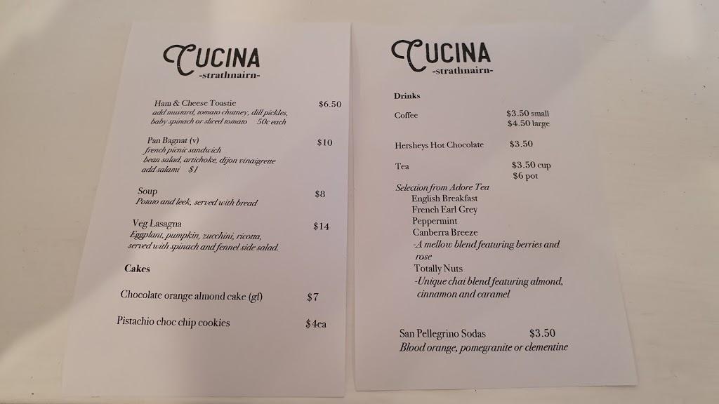 Cucina | cafe | Studio Rd, Australian Capital Territory 2615, Australia