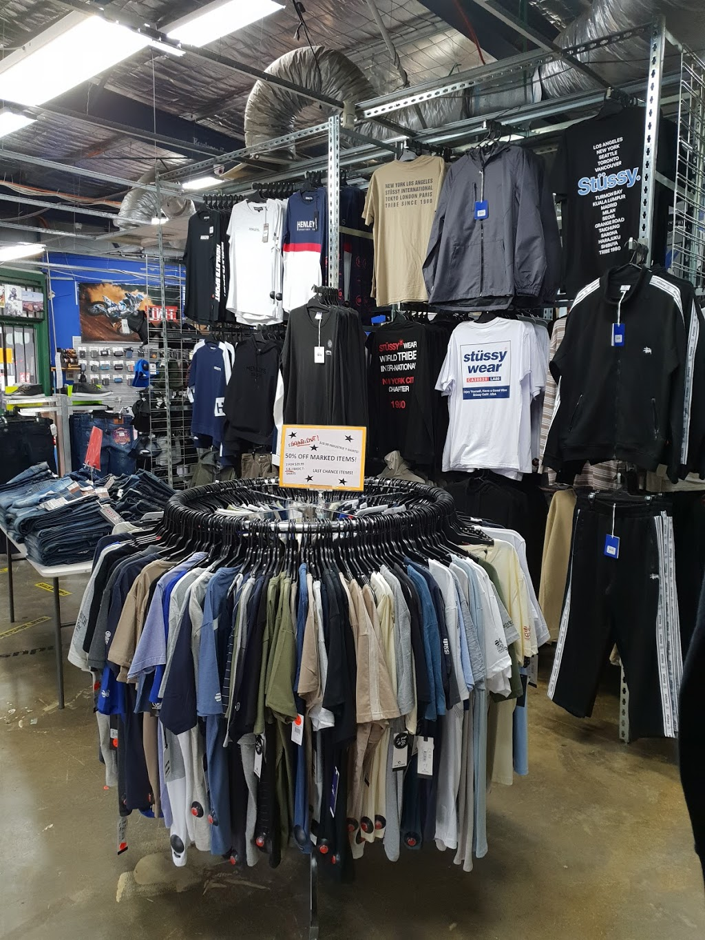 Double C Jeanery | clothing store | 2 Aviation Rd, Laverton VIC 3028, Australia | 0393694307 OR +61 3 9369 4307