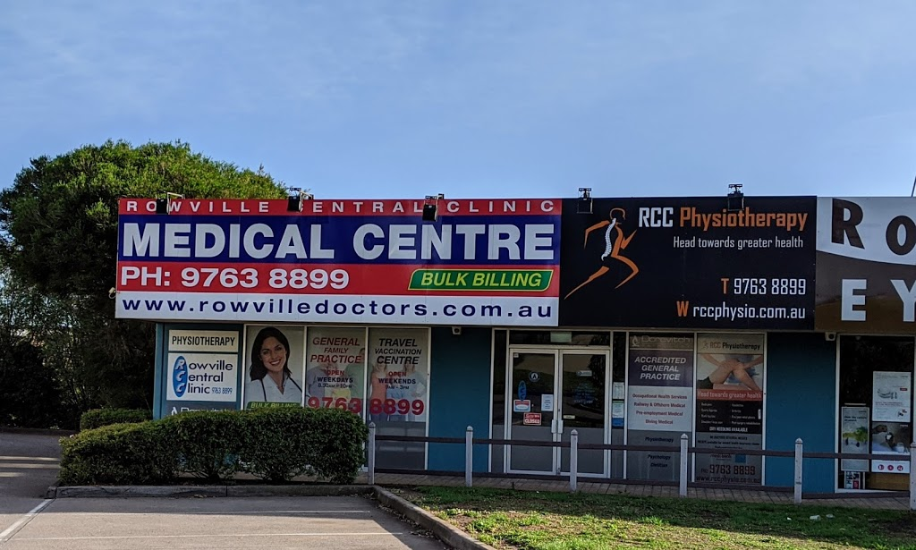 Rowville Central Clinic   health   1/7 Fulham Rd, Rowville VIC 3178, Australia   0397638899 OR +61 3 9763 8899