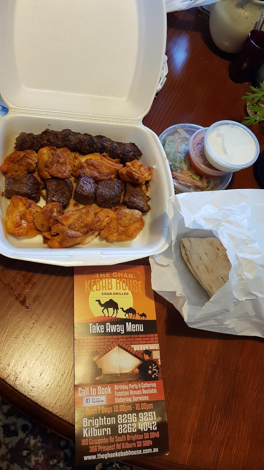 The Ghan Kebab House | meal takeaway | 185 Seacombe Rd, South Brighton SA 5048, Australia | 0882969251 OR +61 8 8296 9251