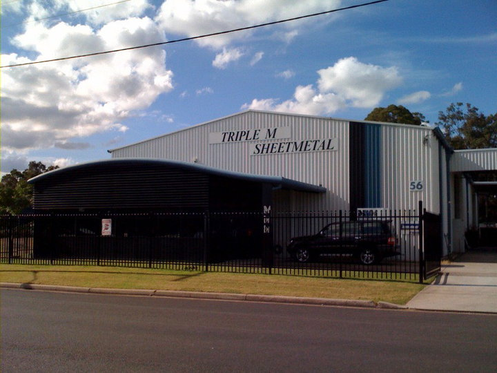 Triple M Sheetmetal Pty Ltd | store | 56 Enterprise Dr, Beresfield NSW 2322, Australia | 0249644888 OR +61 2 4964 4888