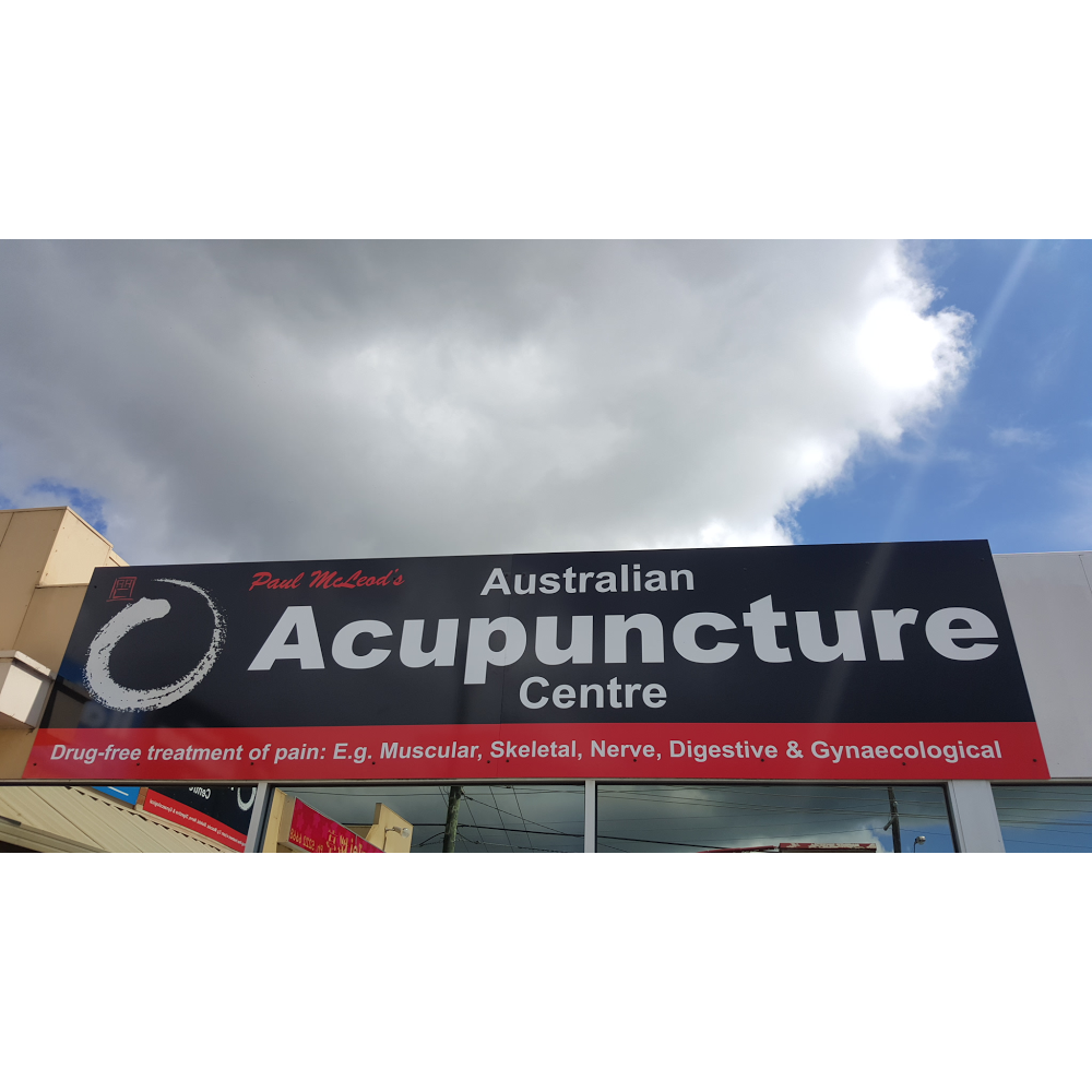 Paul McLeods Australian Acupuncture Centre | health | 3/153 Shannon Ave, Manifold Heights VIC 3218, Australia | 0352981213 OR +61 3 5298 1213