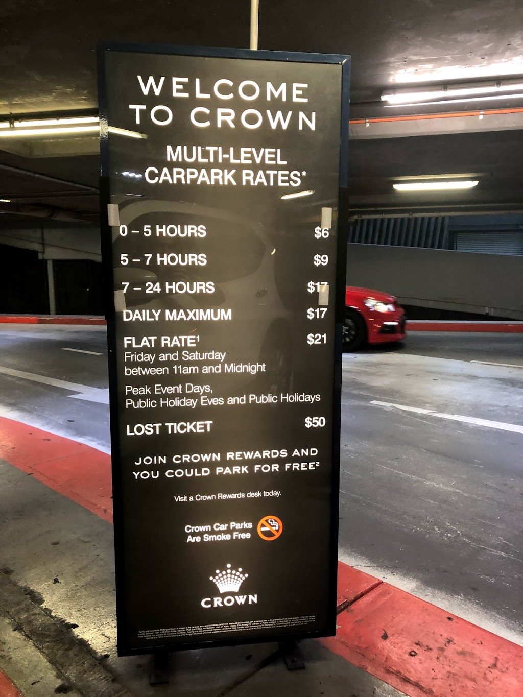 Crown Parking | parking | 33 Haig St, Southbank VIC 3006, Australia | 0399478333 OR +61 3 9947 8333