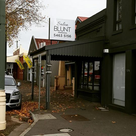 Salon Blunt | hair care | 106 High St, Bendigo VIC 3550, Australia | 0354635156 OR +61 3 5463 5156