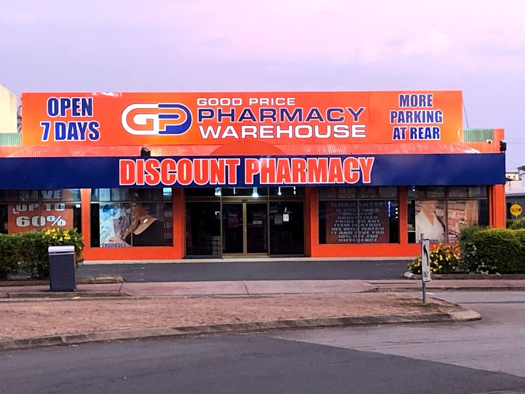 Good Price Pharmacy Warehouse Mackay | health | 3 Peel St, Mackay QLD 4740, Australia | 0749573449 OR +61 7 4957 3449