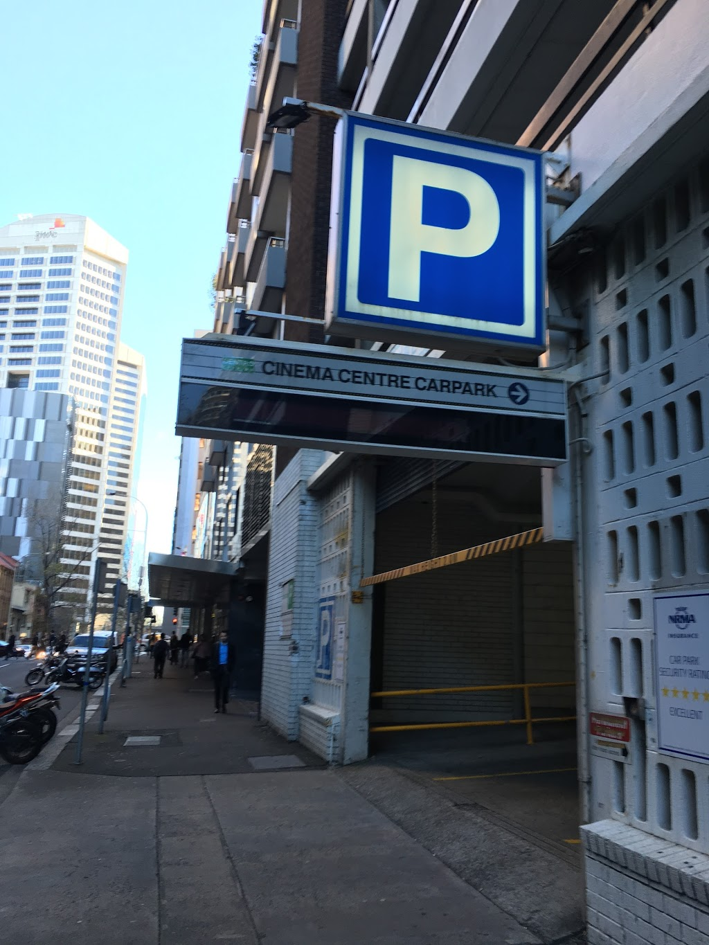 Cinema Centre Car Park | parking | 521 Kent St, Sydney NSW 2000, Australia | 0292645867 OR +61 2 9264 5867