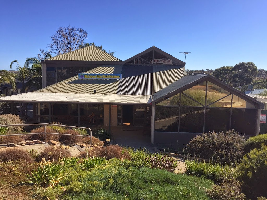 McLaren Vale Backpackers | lodging | 106 Main Rd, McLaren Vale SA 5171, Australia | 0883230916 OR +61 8 8323 0916