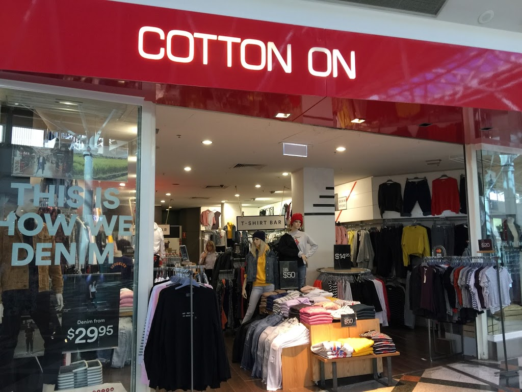 Cotton On | clothing store | 359/25 Main St, Greensborough VIC 3088, Australia | 0394346258 OR +61 3 9434 6258