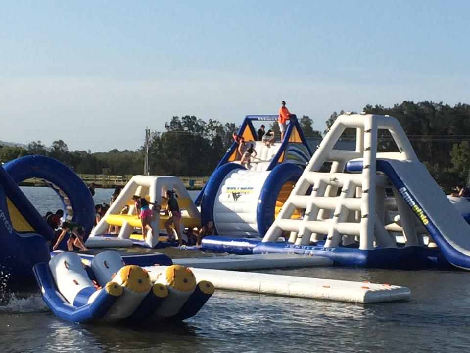 Aqua Park Bli Bli | amusement park | 367 David Low Way, Bli Bli QLD 4560, Australia | 0754487555 OR +61 7 5448 7555