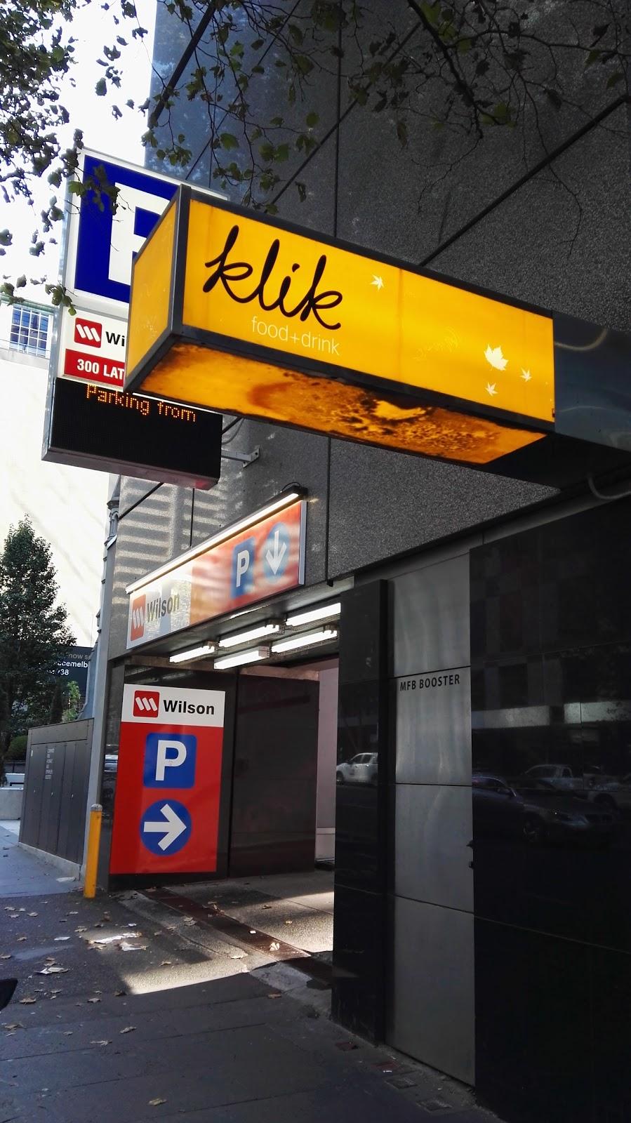 Klik Food And Drink | cafe | 300 La Trobe St, Melbourne VIC 3000, Australia | 0396004444 OR +61 3 9600 4444