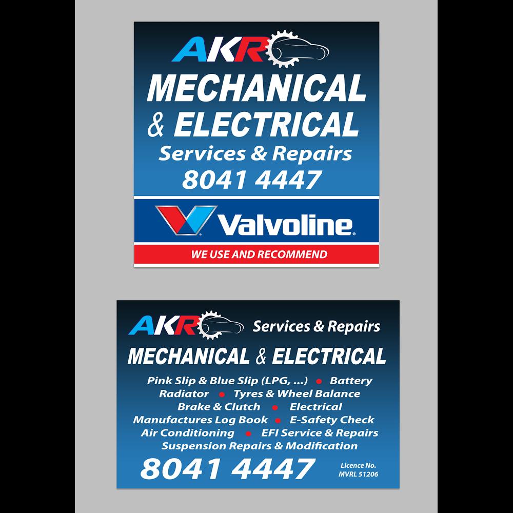 AKR Mechanical & Electrical | car repair | 658 Canterbury Rd, Belmore NSW 2192, Australia | 0280414447 OR +61 2 8041 4447