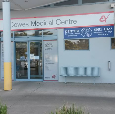 Cowes Medical Centre | hospital | 164 Thompson Ave, Cowes VIC 3922, Australia | 0359511800 OR +61 3 5951 1800