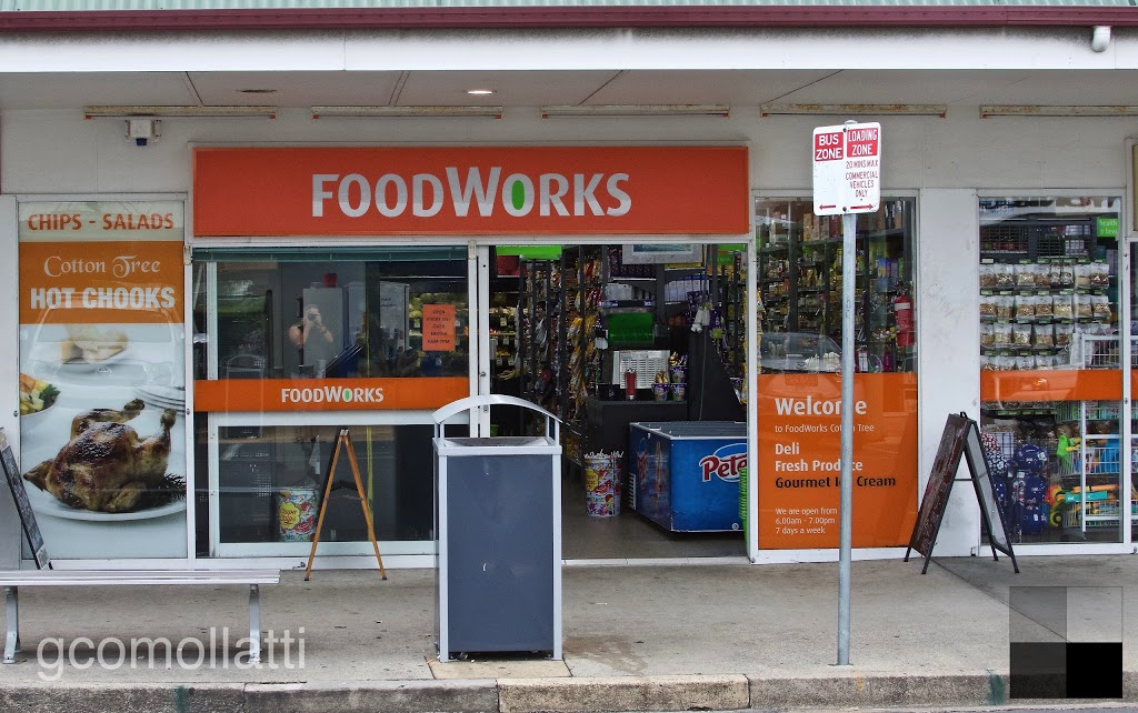 FoodWorks | supermarket | 3/9 King St, Cotton Tree QLD 4558, Australia | 0754433041 OR +61 7 5443 3041