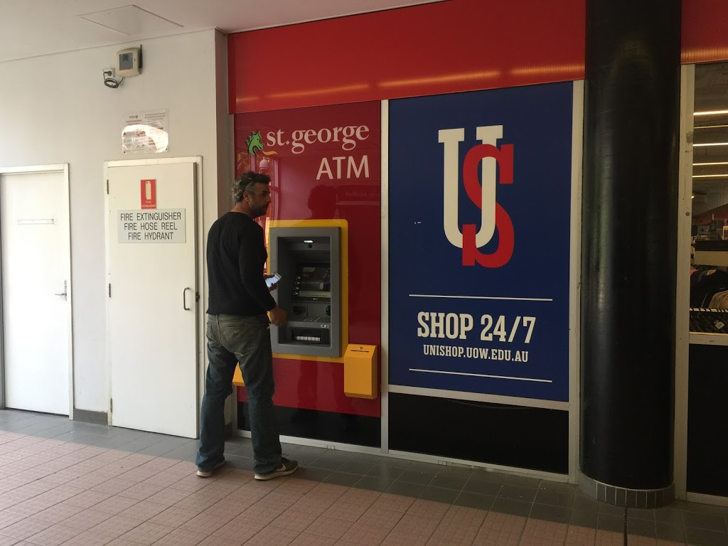 St.George | atm | Unishop, Building, 11 Northfields Ave, North Wollongong NSW 2500, Australia | 133330 OR +61 133330