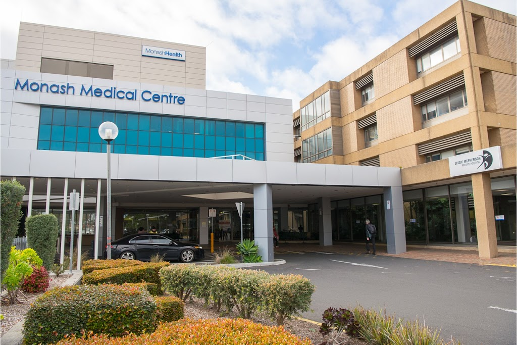 Jessie McPherson Private Hospital | hospital | 246 Clayton Rd, Clayton VIC 3168, Australia | 0395942776 OR +61 3 9594 2776
