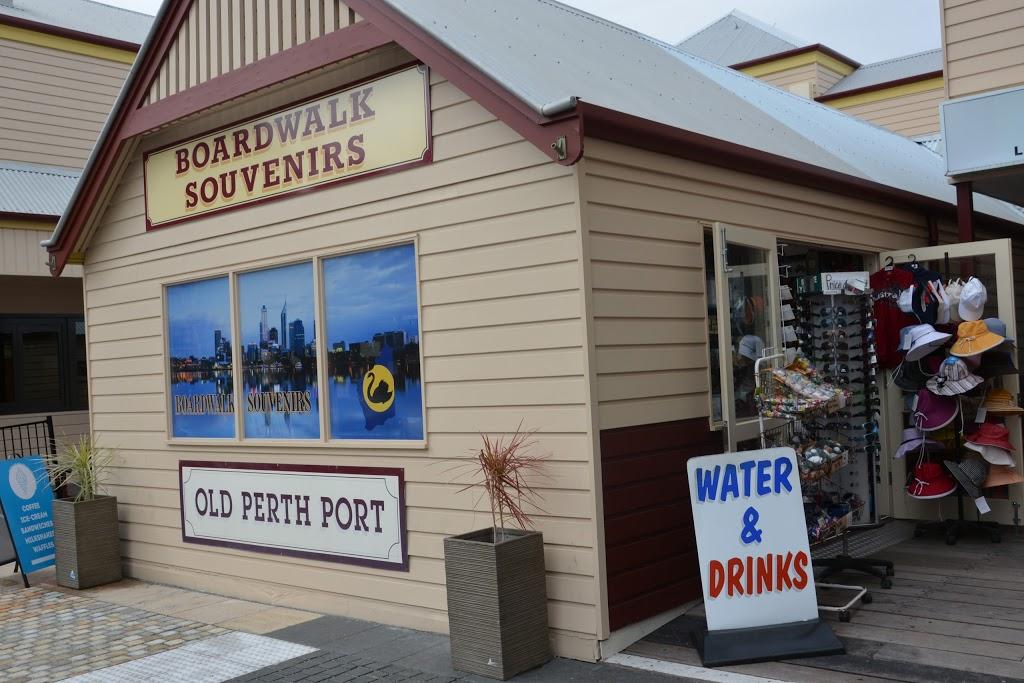 Boardwalk Souvenirs | store | Shop 7 old Perth port, Riverside Drive, Barrack St, Perth WA 6000, Australia | 0893256060 OR +61 8 9325 6060