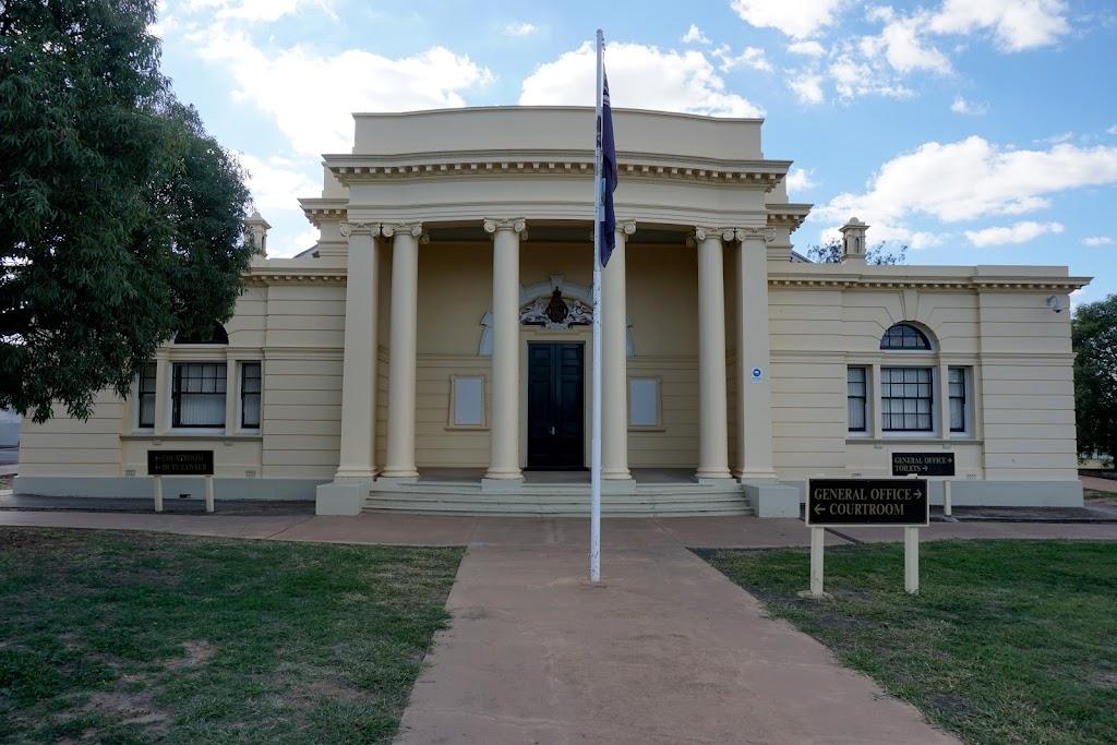 Roma Courthouse   courthouse   141 McDowall St, Roma QLD 4455, Australia   0746243033 OR +61 7 4624 3033