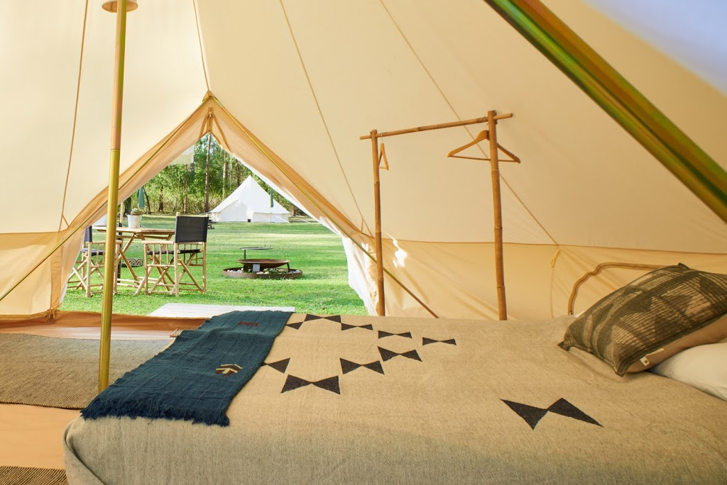 Glamping at Coolendel By Flash Camp | campground | Grassy Gully Rd, Buangla NSW 2540, Australia | 0403537878 OR +61 403 537 878