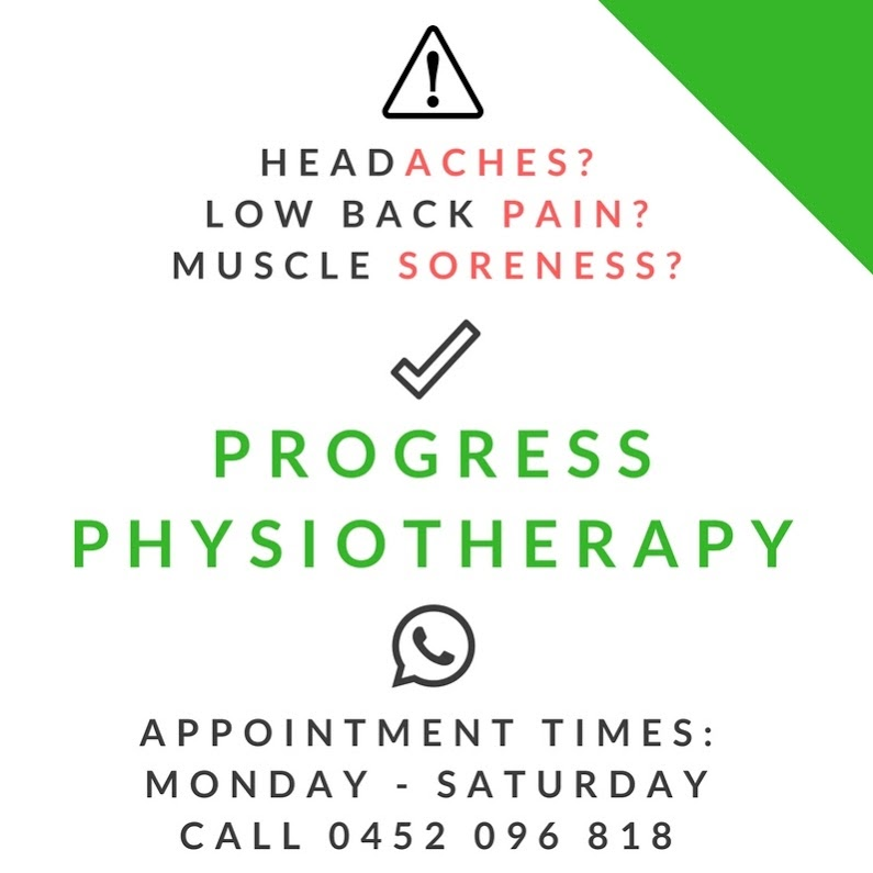Progress Physiotherapy | physiotherapist | Unit 3/56 Audrey Ave, Blair Athol SA 5084, Australia | 0452096818 OR +61 452 096 818