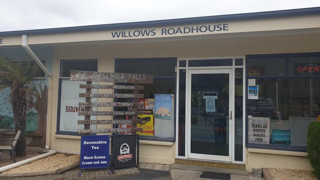 Willows Roadhouse | gas station | 27921 Tasman Hwy, Pyengana TAS 7216, Australia | 0363736140 OR +61 3 6373 6140