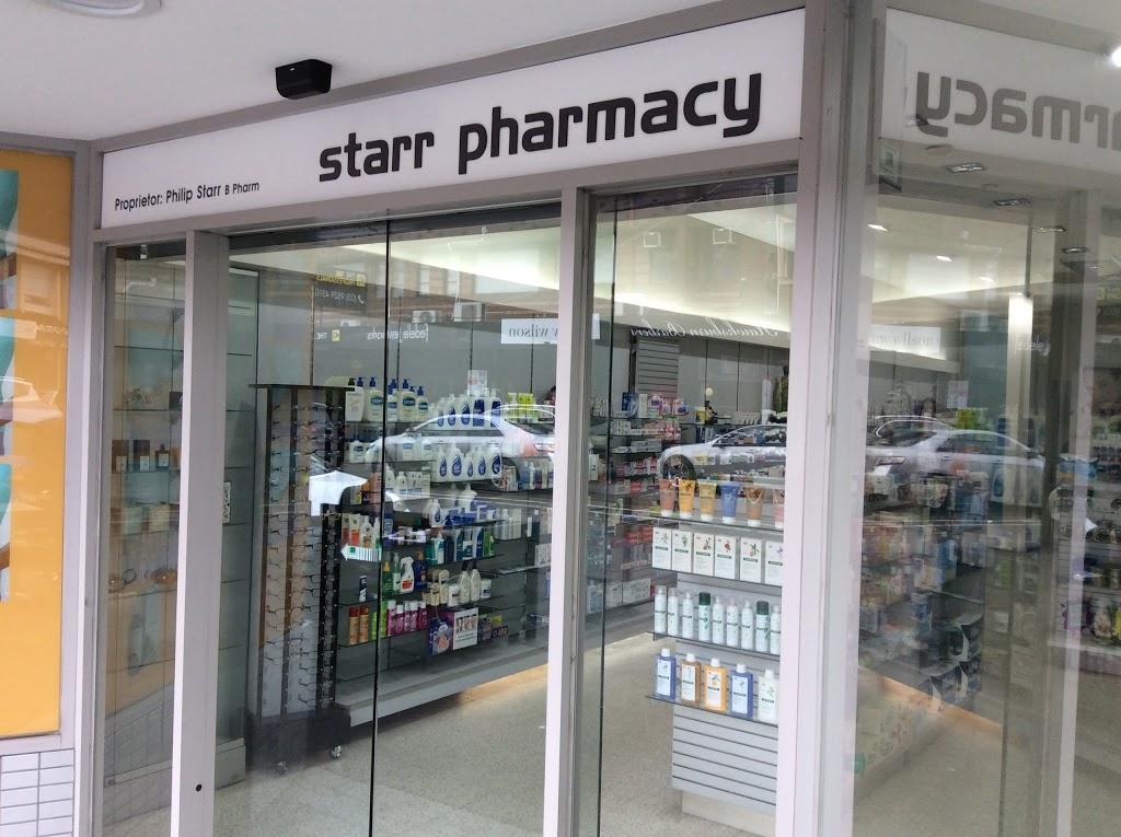 Starr Pharmacy   pharmacy   523 Malvern Rd, Toorak VIC 3142, Australia   0398273543 OR +61 3 9827 3543