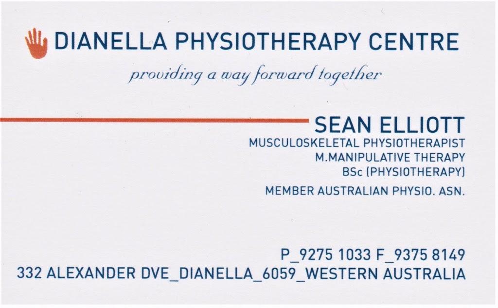 Dianella Physiotherapy Centre - Sean Elliott | physiotherapist | 332 Alexander Dr, Dianella WA 6059, Australia | 0892751033 OR +61 8 9275 1033
