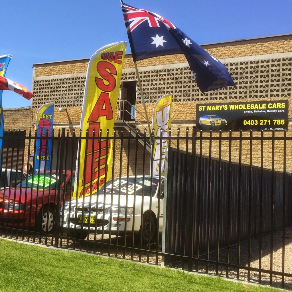 St Marys WholeSale Cars | car dealer | 5/4-8 Morley Ave, Kingswood NSW 2747, Australia | 0403271786 OR +61 403 271 786