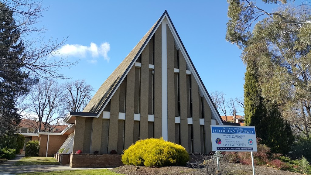 St Peters Lutheran Church   church   6 Boolee St, Reid ACT 2612, Australia