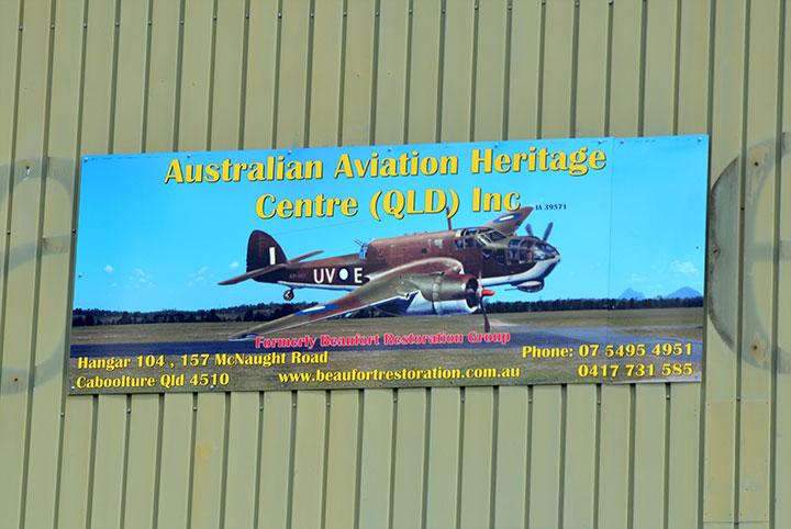 Australian Aviation Heritage Centre (Qld) Inc. | museum | Hangar 104,157 McNaught Road, Caboolture QLD 4510, Australia | 0754954951 OR +61 7 5495 4951