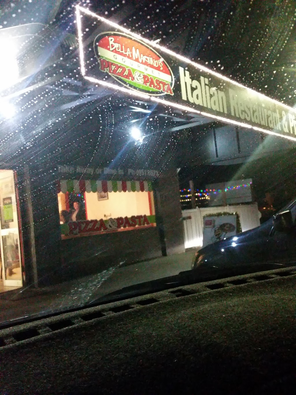 Bella Martinos Italian Restaurant & Pizzeria   restaurant   65 Perry St, Bundaberg North QLD 4670, Australia   0741518671 OR +61 7 4151 8671